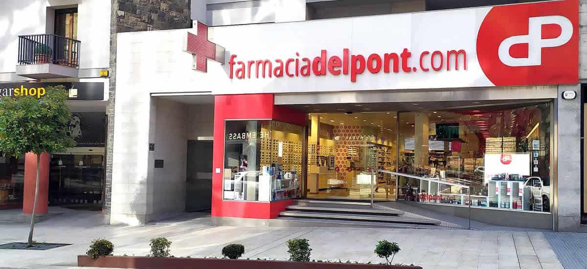 Farmacias online Andorra. Consultas medicamentos farmacia del Pont.