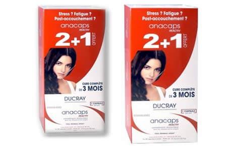 Comprar Ducray Anacaps Reactiv Andorra. Vitaminas y minerales para prevenir la caída del cabello. Farmacia online del Pont