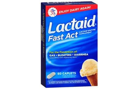 Comprar Lactaid Fast Act Andorra. Intolerancia a la lactosa. Farmacia online del Pont