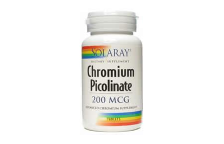 Comprar Solaray Cromo Picolinate en Andorra. Quemador de grasa. Para-farmacia online andorra