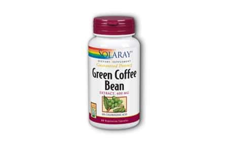 Comprar Solaray Green Coffee Bean en Andorra. Quemador de grasa. Para-farmacia online andorra